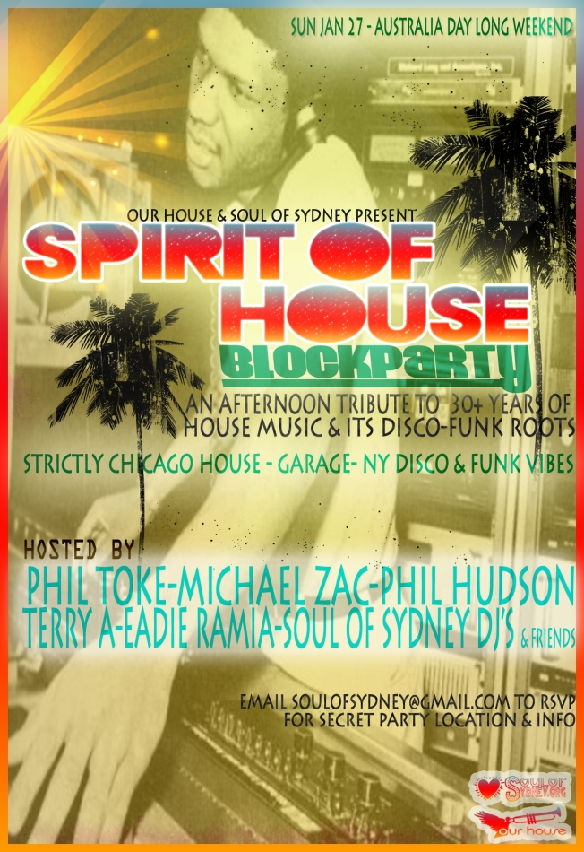 SPIRIT OF HOUSE  F copy