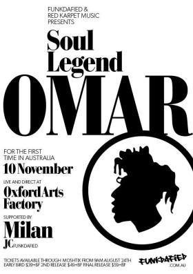 UK Soul Legend Omar Australian Tour