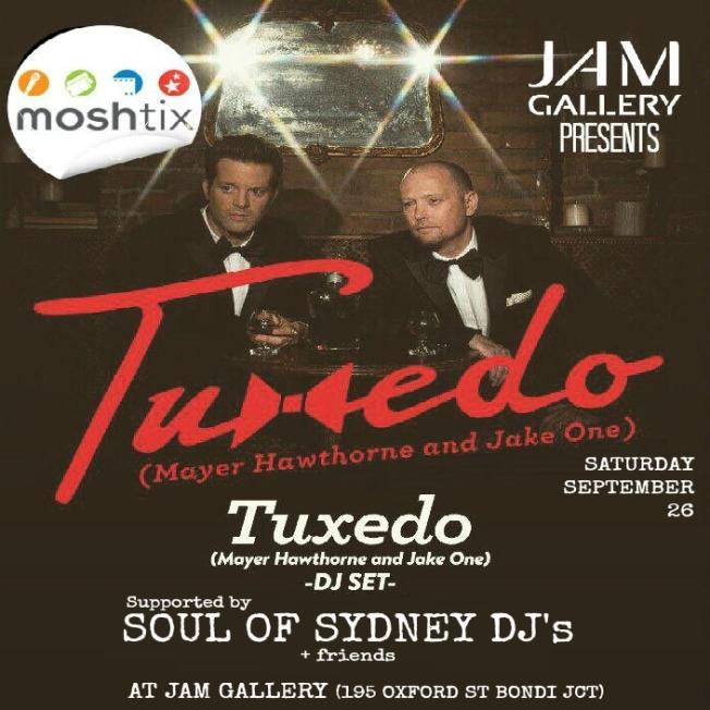 TUXEDO SYDNEY disco
